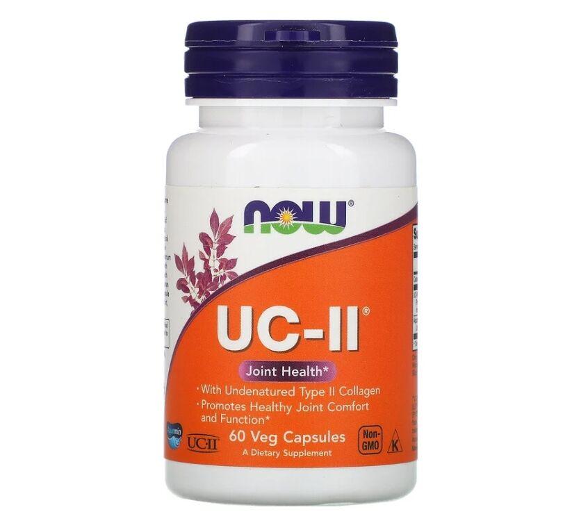 Colágeno Tipo 2 UC-II - Now Foods - 60 Cápsulas