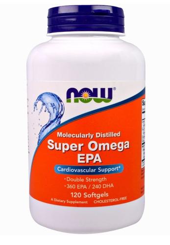 Super Ômega 3 EPA - Now Foods - 120 Softgels