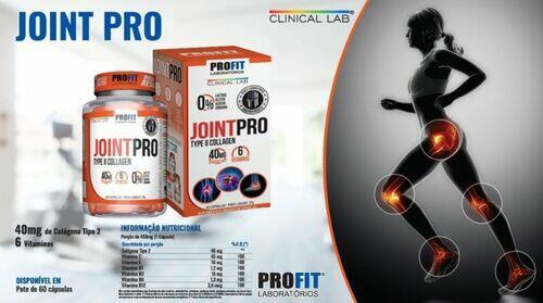 Joint Pro - Colágeno Tipo 2 - Profit Labs - 60 Cápsulas