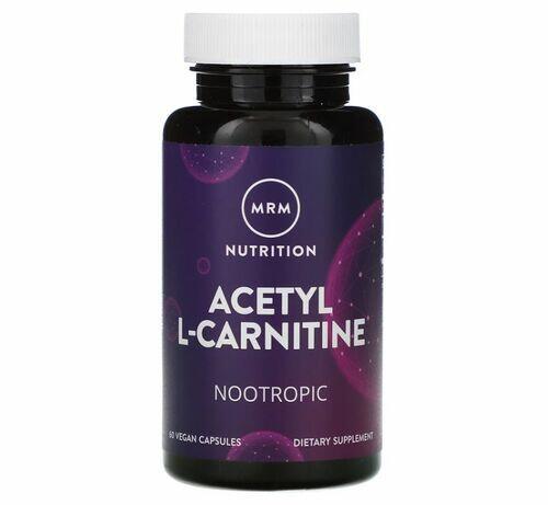 Acetil L-Carnitina 500 mg -  MRM  - 60 cápsulas