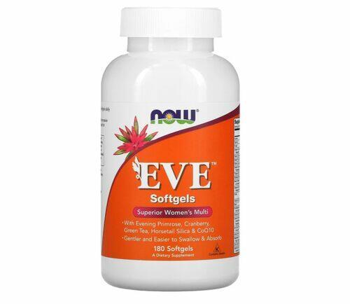 Multivitamínico EVE Para Mulheres- Now Foods - 180 Softgels