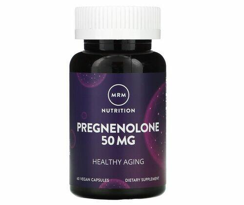 Pregnenolona 50 mg - MRM - 60 tabletes