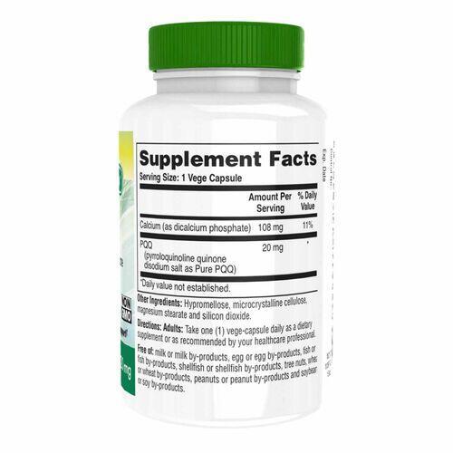 PQQ  (Pirroloquinolina Quinona) 20 mg - Health Thru Nutrition - 60 Cápsulas