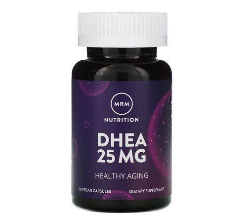 DHEA 25 mg  - MRM - Total 90 cápsulas - Frete Grátis
