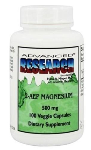 Magnésio 2-AEP 500 mg - Fosfoetanolamina - Advanced Research - 100 cápsulas