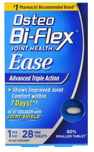 Osteo Bi-Flex Função Articular e Mobilidade, Alívio, Fórmula com Colágeno UC-II, 28 Minicomprimidos