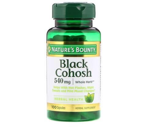 Erva-de-São-Cristóvão 540 mg - Nature´s Bounty - 100 Cápsulas