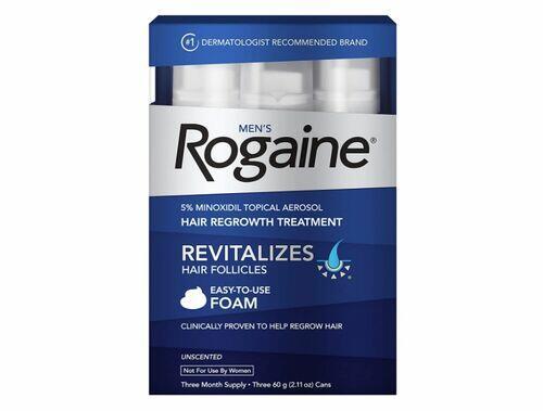 Rogaine Foam Espuma - 3 meses de tratamento