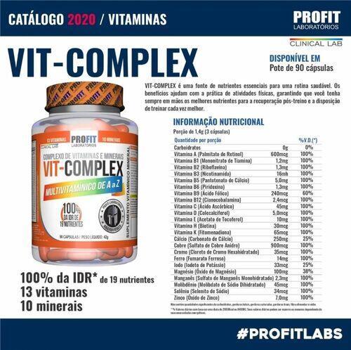Kit - Multivitamínico A-Z Multi Complex + Vitamina C 1000mg