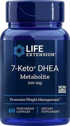 2x 7-Keto DHEA 100 mg - Life Extension - Total 120 cápsulas