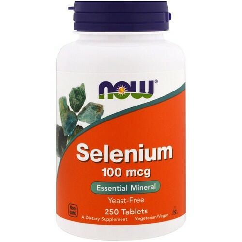 Selênio 100 mcg - Now Foods - 250 Tabletes