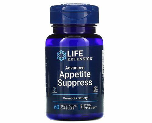 Advanced Appetite Suppress (Inibidor de Apetite) - Life Extension - 60 Cápsulas