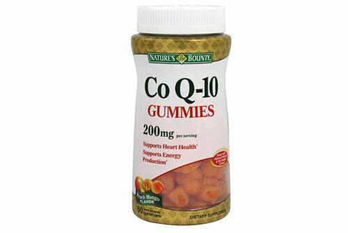 2 x Coenzima Q10 (CoQ10) 200 mg  - Nature´s Bounty - Total 120 Gomas