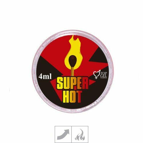 Creme Excitante Esquenta - Super Hot - 4ml - Top Gel