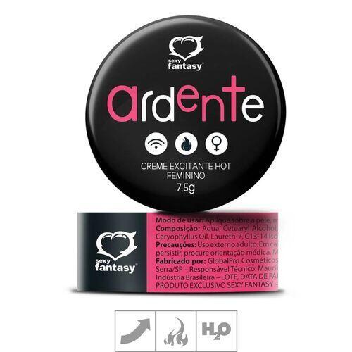 Creme Excitante Feminino Ardente Hot - 7,5g Sexy Fantasy