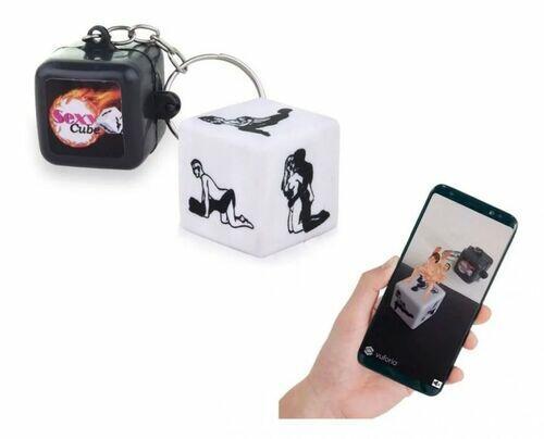 Dado Sexy Cube 3D - Jogo do Prazer com Realidade Aumentada