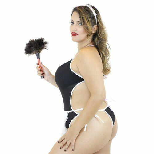 Fantasia Plus Size - Body Empregada - Mil Toques