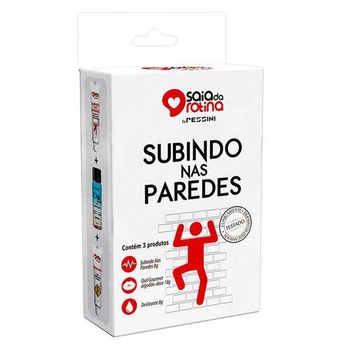 Kit Subindo Pelas Paredes com 3 Géis Funcionais - Linha Saia Da Rotina