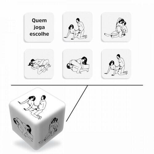 Dados do Prazer Hetero - Diversão ao Cubo