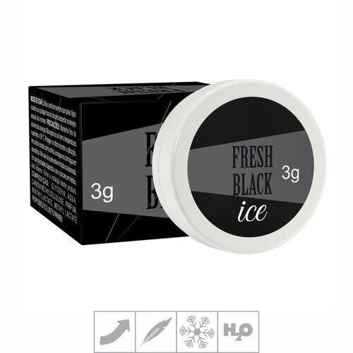 Fresh Black - Creme Refrescante - 3g - Secret Love