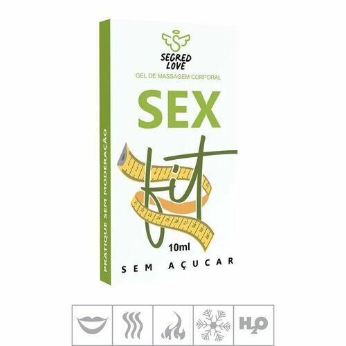 Sex Fit - Gel Lubrificante Esquenta e Esfria em Sachê 10ml
