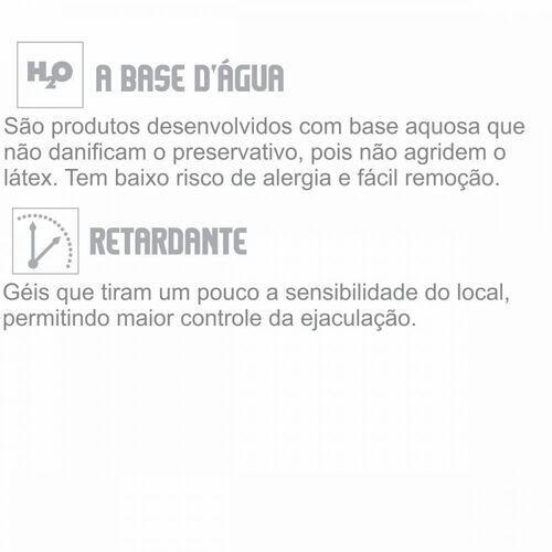 Trepesemia - Gel Lubrificante Masculino com Ação Retardante - 15ml