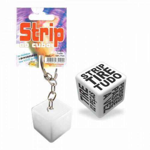 Dados Chaveiro Strip - Diversão ao Cubo