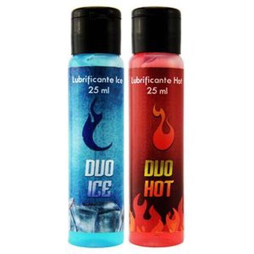 Gel Lubrificante - Duo Hot e Ice (Esquenta e Esfria) - 25ml