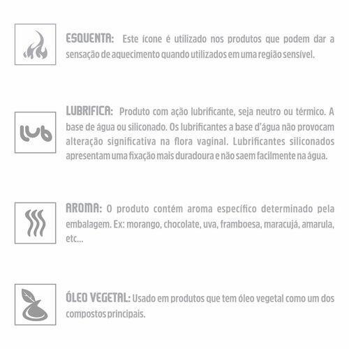 Sexy Balls - Labareda Lubrificante Hot - 3 Unidades