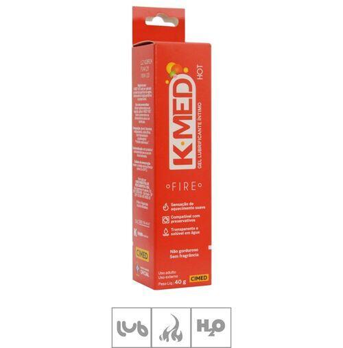 K-MED Lubrificante Íntimo Hot - 40g