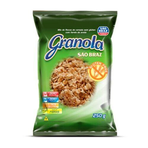 Granola Sem Glúten São Braz 250g