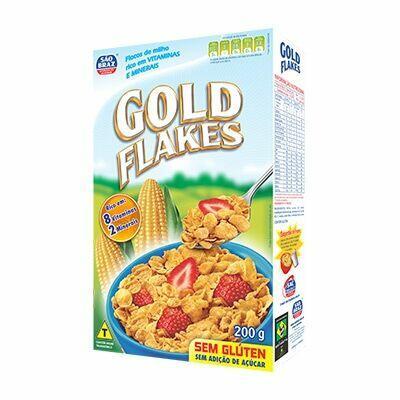 Cereal Sem Glúten Natural São Braz 200g
