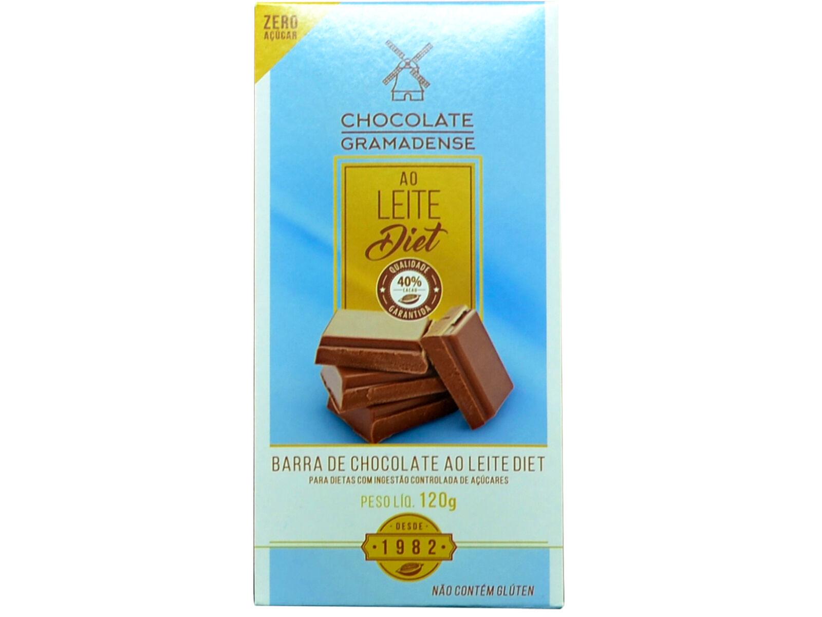 Barra de Chocolate Diet 120g