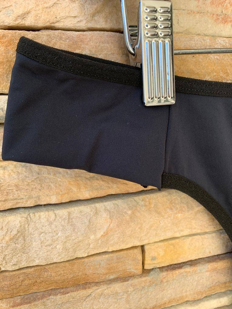 Calça Plus Size de Microfibra Lisa  - Gabriela