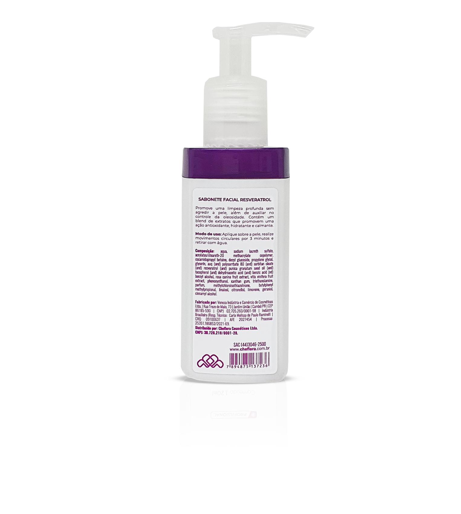Resverathrol NanoTech | Sabonete Facial Resveratrol
