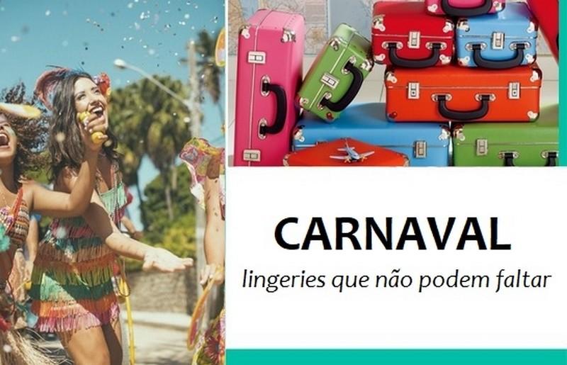 Lingeries que não podem faltar no carnaval