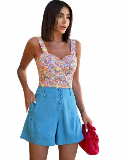 Cropped Floral Liberty