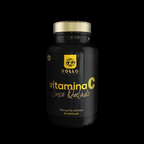 Vitamina C e Zinco - 60 Cápsulas