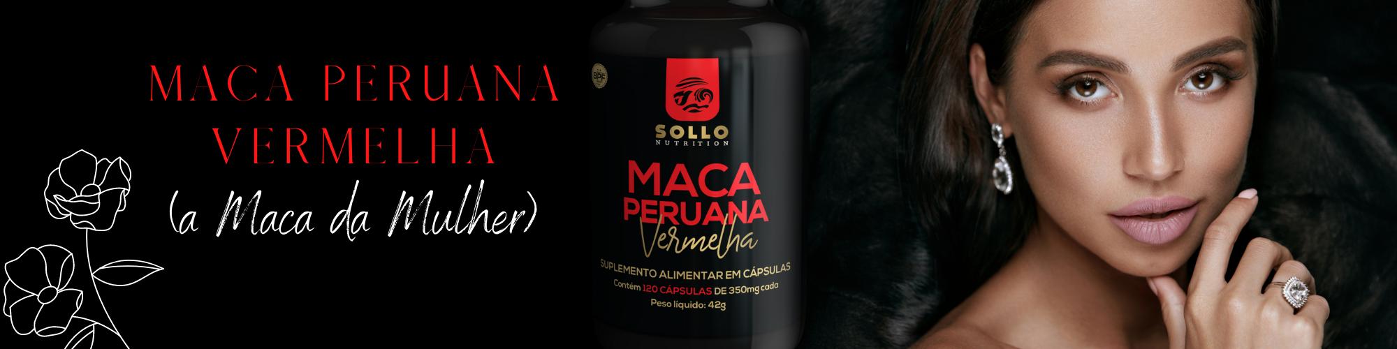 Maca Peruana Vermelha