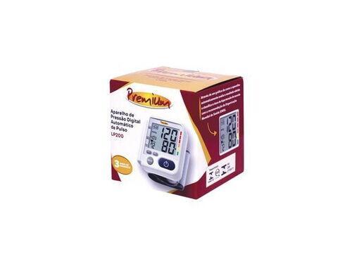 Aparelho De Pressão Digital Automático De Pulso Lp200 - Premium