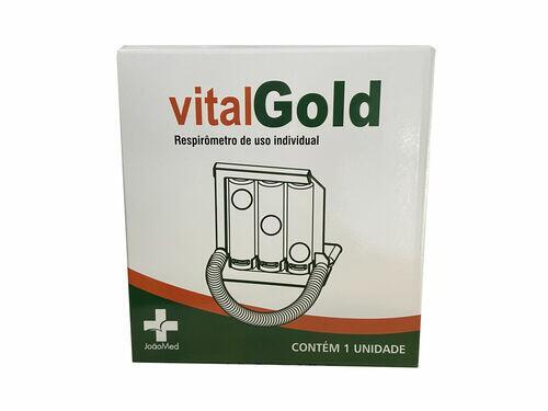 Respirômetro Adulto De Uso Individual - Vitalgold