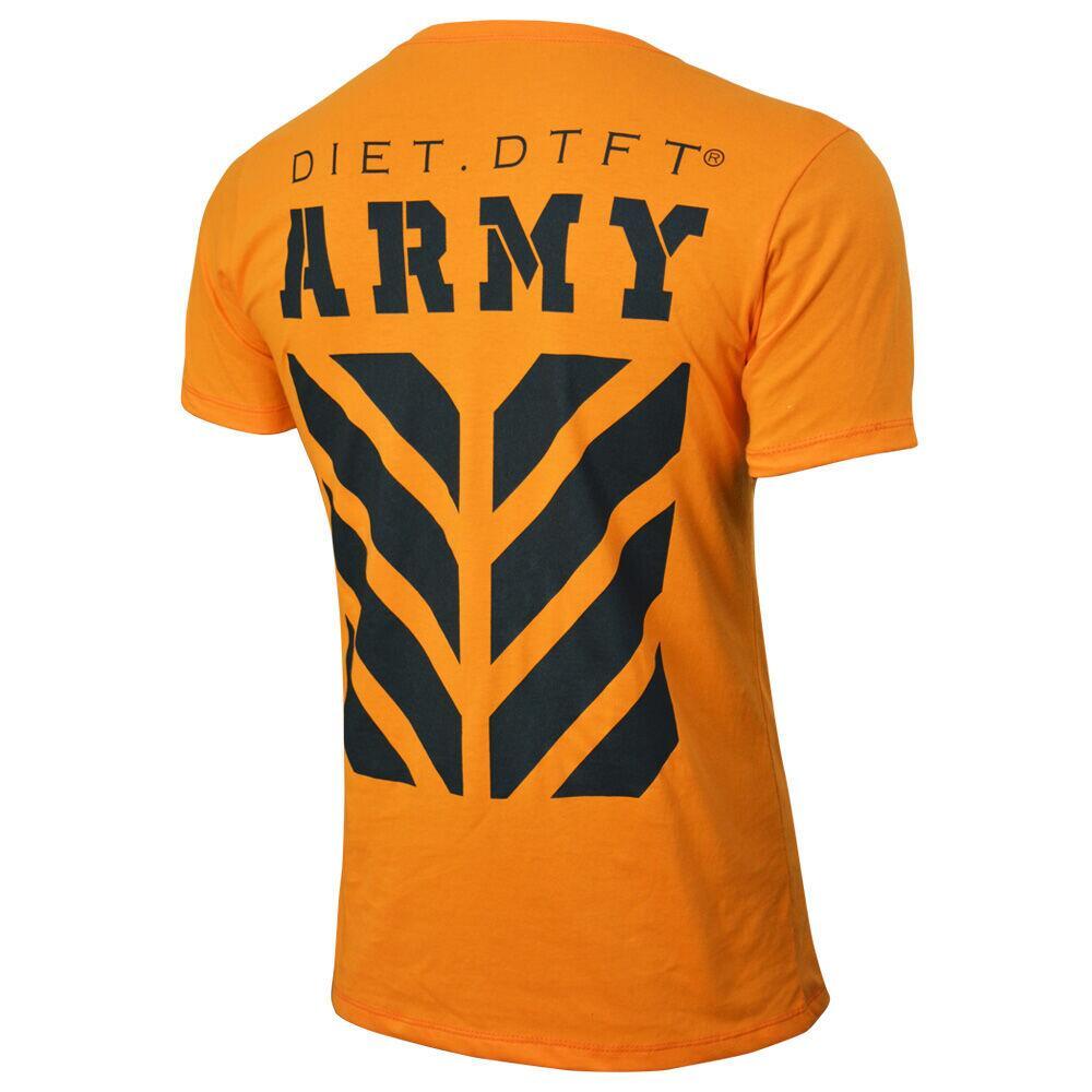 Camiseta Masculina Tradicional Army II XXI Laranja