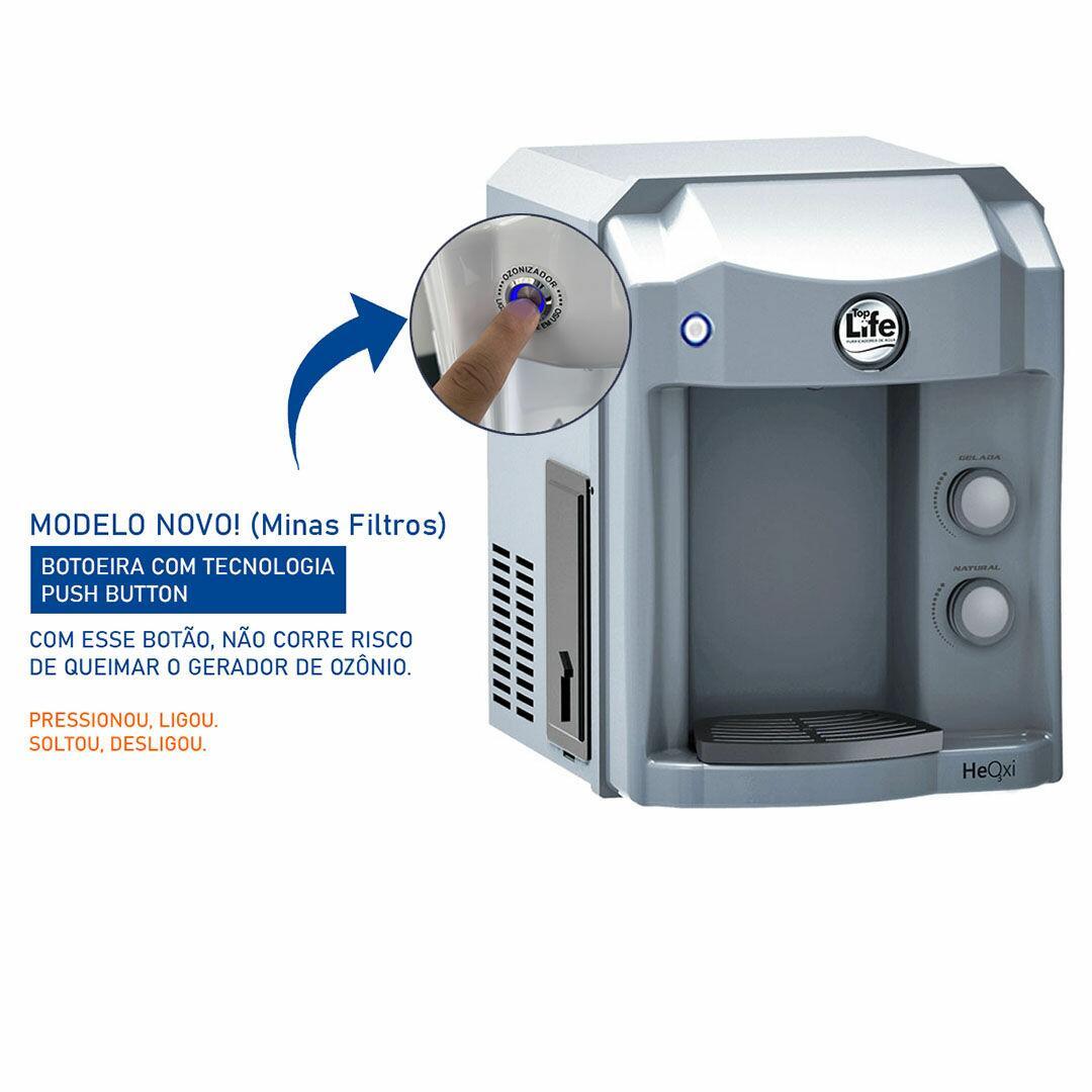 Purificador Agua Super Alcalina Ionizada C/ Ozonio Prata
