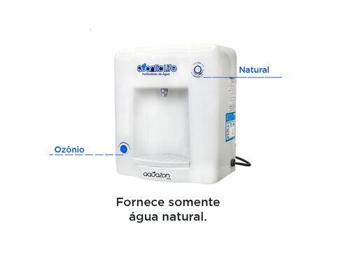 Purificador de água Natural Alcalino com Gás Ozônio Aquazon