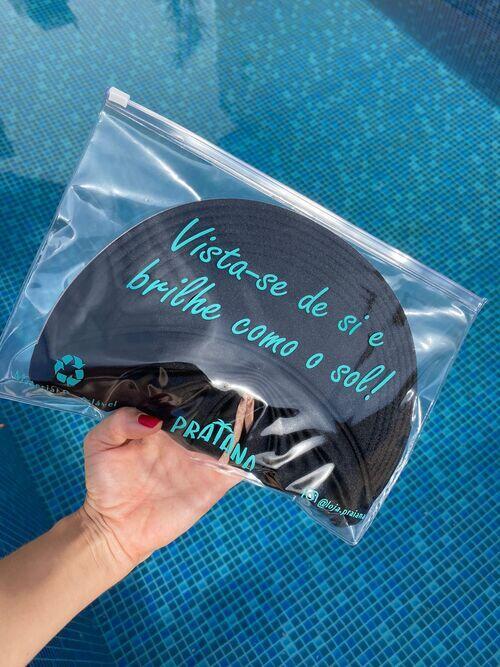 Viseira Turbante UV50+ Premium cor Preta