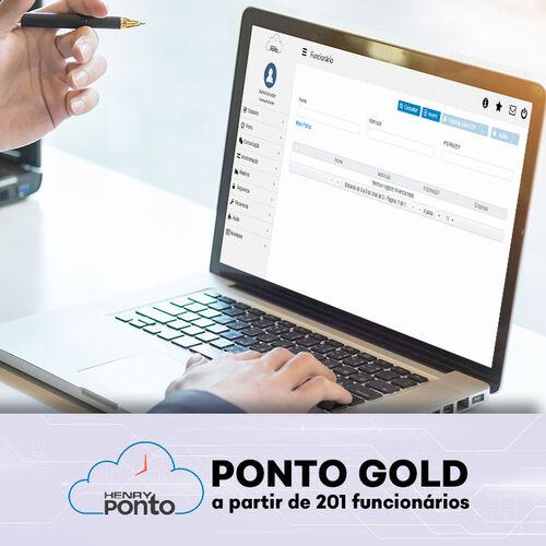 Sistema de Ponto Eletrônico Online - Henry Ponto Gold - a partir de 201 funcionários