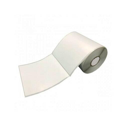Etiqueta Adesiva Bopp branco fosco 100x100x01 Rolo 300 unidades
