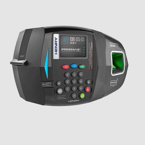 Relógio Ponto Biométrico c/ Software Grátis (6 meses) Brinde 5 Crachás Personalizados