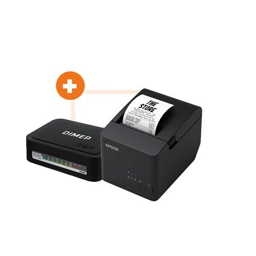 Combo  SAT Fiscal D-SAT 2.0 Dimep + Impressora TM-T20X Epson
