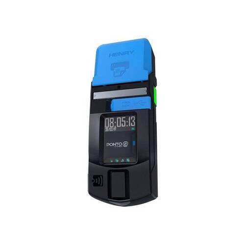 Relógio de Ponto Móvel Biométrico Henry Ponto E Advanced